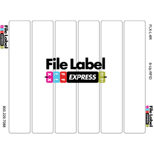 RFID File Folder Labels