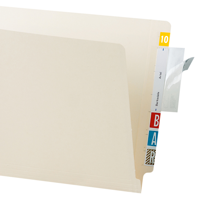 Tabbies 88385 File Folder Label Protectors 3.5 X 2