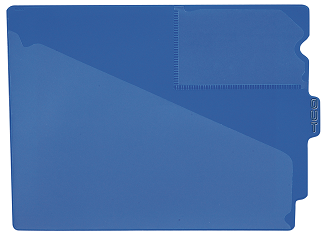Tabbies 74501 Blue Center Tab Vinyl Out Guides