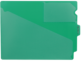 Tabbies 74502 Green Center Tab Vinyl Out Guides
