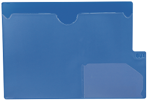 Tabbies 74581 Blue Large Tab Vinyl Out Guides