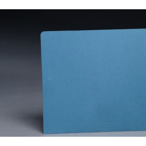 File Folders Blue 1/3 Cut Top Tab