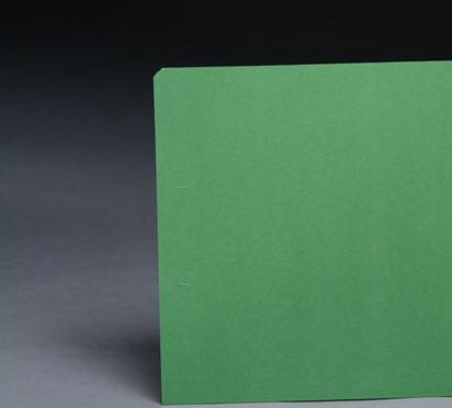 File Folders Green 1/3 Cut Top Tab