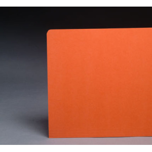 File Folders Orange 1/3 Cut Top Tab