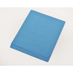 Blue End Tab Letter Size File Folders Blue