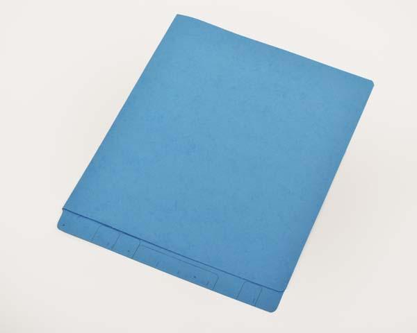 Blue End Tab Letter Size File Folders Blue