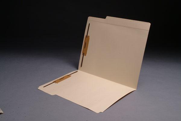 File Folders 3/4 Cut Top Tab Double Fastener
