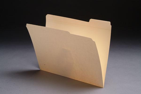1/3 Cut Top Tab File Folders