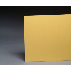 Yellow Color File Folders 1/3 Cut Top Tab, Letter Size (Box of 100)