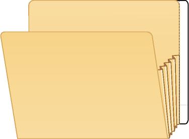 Tabbies 55993 Bulk 1000 Extenda Folder Strips 9.5 X 3.75