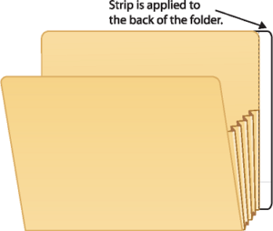 Extenda Folder Strips 9.5 X 3.75
