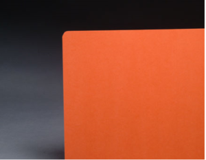 Orange Color File Folders 1/3 Cut Top Tab, Letter Size (Box of 100)