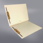 Pocket File Folders, Full Pocket Back, Double Fastener, Full Cut End Tab (Box of 50) Gallery 2