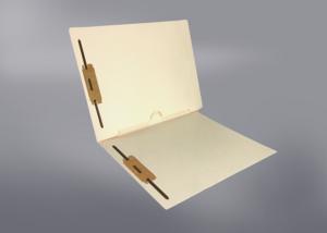 Pocket File Folders, Full Pocket Back, Double Fastener, Full Cut End Tab (Box of 50) Gallery 2