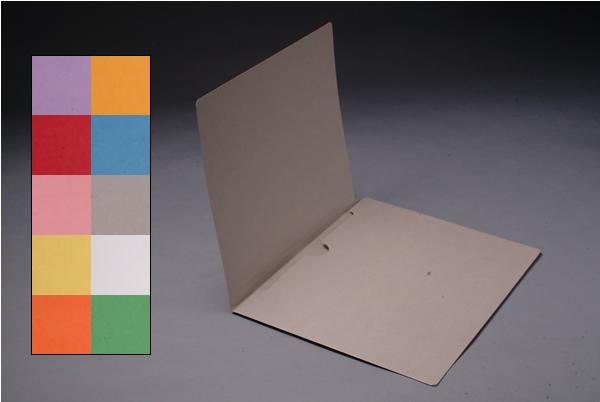 Color File Folders, Full Cut End Tab, Letter Size, Full Back Pocket (Box of 50)