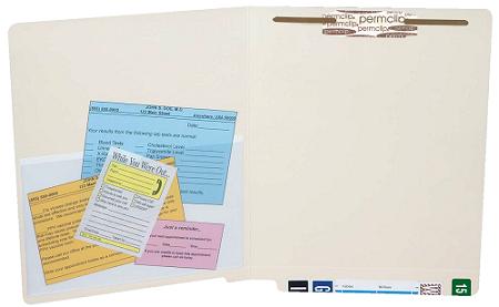 Tabbies Self‑Adhesive Heavy Duty File Folder Pockets Gallery
