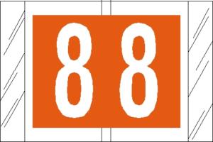 Tabbies 11000 Col R Tab Numeric Labels 8
