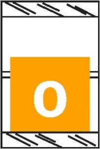 Tabbies 11050 Col R Tab Numeric Labels 0