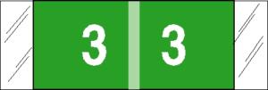 Tabbies 11850 Col R Tab Numeric Labels 3