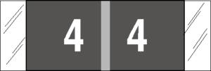 Tabbies 11850 Col R Tab Numeric Labels 4