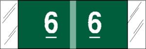 Tabbies 11850 Col R Tab Numeric Labels 6
