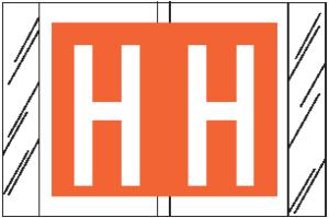 Tabbies 12000 Col R Tab Alpha Labels H