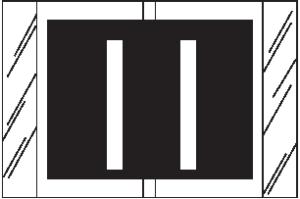 Tabbies 12000 Col R Tab Alpha Labels I