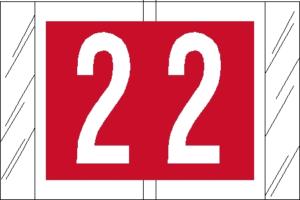 Tabbies 81000 Col R Tab Numeric Labels 2
