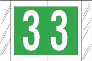 Tabbies 81000 Col R Tab Numeric Labels 3