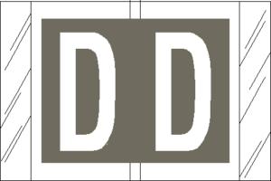 Tabbies 82000 Col R Tab Alpha Labels D
