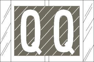 Tabbies 82000 Col R Tab Alpha Labels Q
