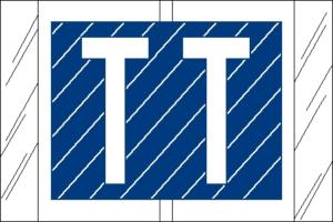 Tabbies 82000 Col R Tab Alpha Labels T