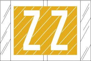 Tabbies 82000 Col R Tab Alpha Labels Z